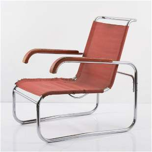 Marcel Breuer, 'B 35' armchair, c. 1928/29