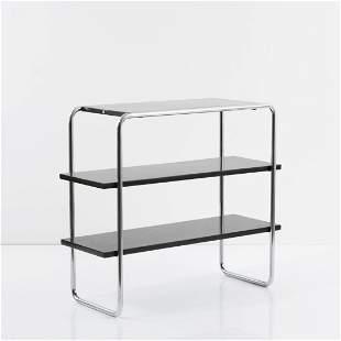 Marcel Breuer, 'B 22' shelf, 1928