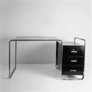 Marcel Breuer, 'B 65' (variation) writing desk, 1929/30