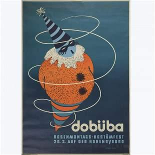 Schünke-Fietze, 'Dobüba' poster, 1938