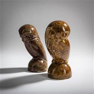 Josef Hartwig, 2 owls, 1922