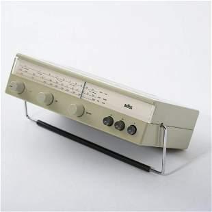 Dieter Rams, 'T 540' portable radio, 1962