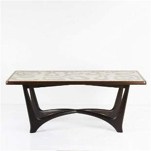 Berthold Müller, Mosaic table, 1950s