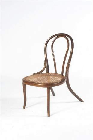 Thonet, Vienna, Nursery chair, 1890s