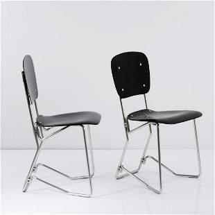 Armin Wirth, 2 'Aluflex' folding chairs, 1951