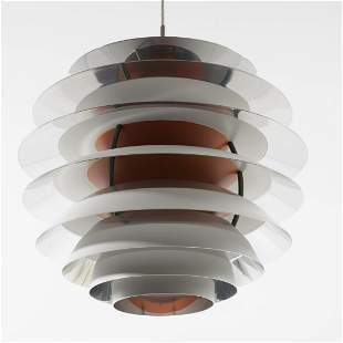 Poul Henningsen, 'Contrast' ceiling light, 1958