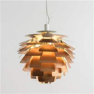 Poul Henningsen, 'PH Artichoke' ceiling light, 1957