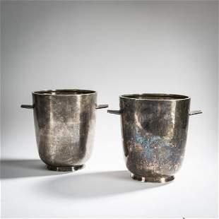 Gio Ponti (attr.), 2 champagne coolers, c. 1936