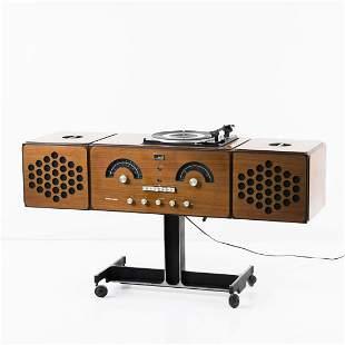 Achille Castiglioni, 'RR-126' stereo system, 1965