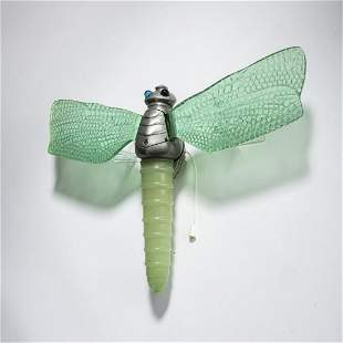 France, 'Dragonfly' wall light, 1930s