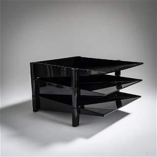 Enzo Mari, 3 stackable storage compartments 'Sumatra',