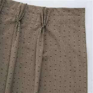 Andrée Putman, 2 curtains, c. 1989