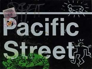 Keith Haring (1958 Reading, PA - 1990 New York City)