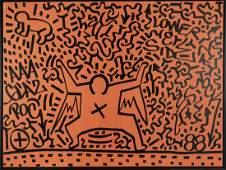 Angel Ortiz (LA II); Keith Haring (attr.), 'Lower East