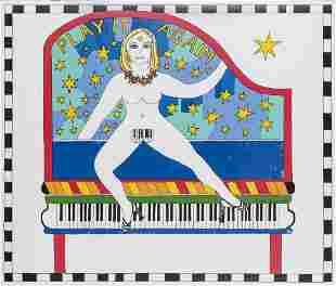 Dorothy Iannone (1933 Boston), 'Play it again', 2007