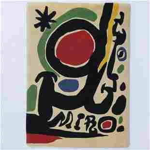 Joan Miró (1893 Barcelona - 1983 Palma de