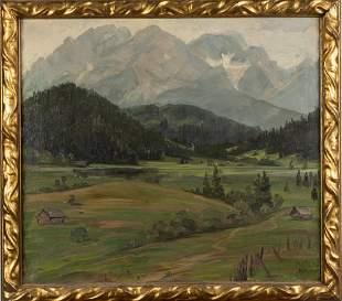 Maria Klocke (XXth century), Untitled (pre-Alpine