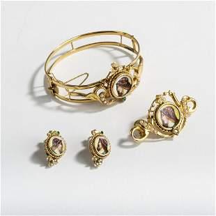 Italy, Jewelry set, c. 1850
