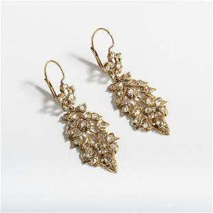 Italy, Pair of earrings, c. 1880