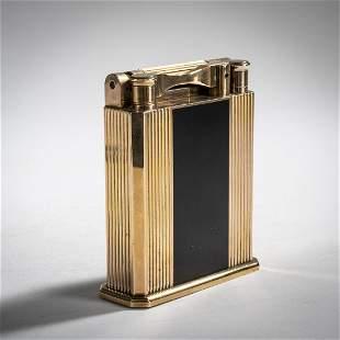 S. T. Dupont, Paris, 'Jeroboam' table lighter, c. 1970
