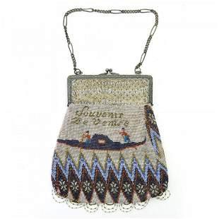Souvenir bag 'Souvenir De Venise', c. 1900
