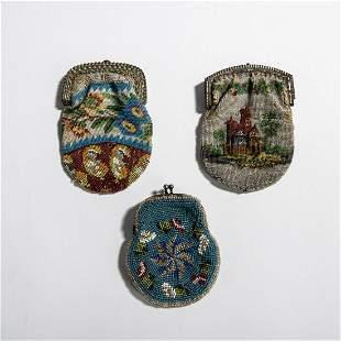Three purses, 2nd half of the 19th century