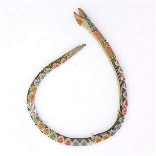 Bead snake, 2nd half of the 19th century