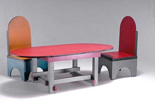 5: Jacobus J. J. (Ko) Verzuu. Toy furniture, designed 1