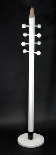 7: Ferdinand Kramer. Coatrack in the shape of a pencil,