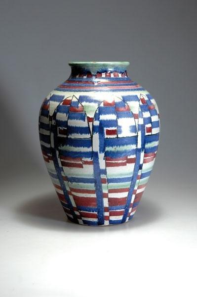 10: Hedwig Bollhagen; Else Dörr. Vase, designed in 1927