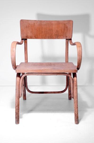 12: Ferdinand Kramer. 'Kramer - B-403' chair.  Designed