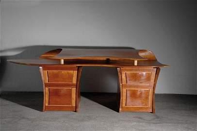 372: David Delthony. 'Clam' writing desk, designed and