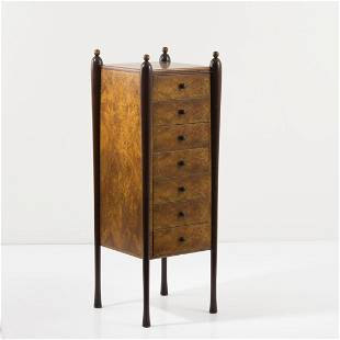 Annibale Colombo, Brianza, Chest of drawers, 1930s
