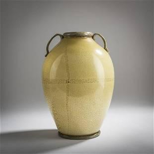Carlo Scarpa (attr.), 'Lattimo' vase, c. 1929