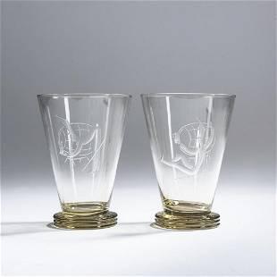 Franz Pelzel, Two mugs, c. 1930