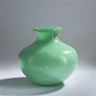 Napoleone Martinuzzi (attr.), 'Pulegoso' vase, c. 1930