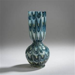 Ercole Barovier, 'Graffito' vase, c. 1969