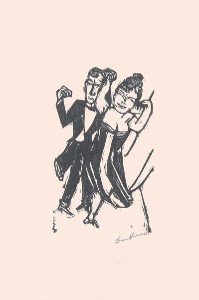 1: Max Beckmann (Leipzig 1884 - 1950 New York)