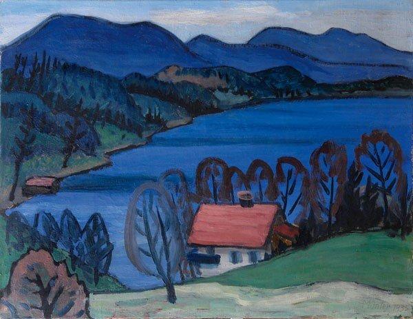 3: Gabriele Muenter (Berlin 1877-1962 Murnau)