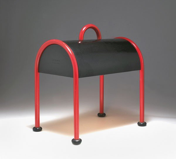 14: Ettore Sottsass. 'Valigia' table light, designed in