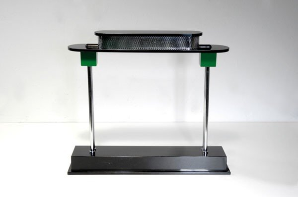 19: Ettore Sottsass. 'Pausania' table light, designed i