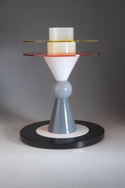 21: Ettore Sottsass. 'Bay' table light, designed in 198