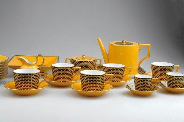 329: Claudio La Viola. Coffee set. 20 pieces, designed