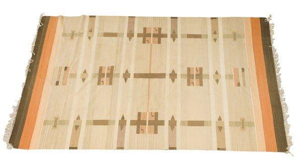 Kiikan Kutyomo, Finland. Carpet, designed in the 1920s.