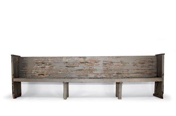 Alvar Aalto. Church bench, designed in 1926.  H. 110 x
