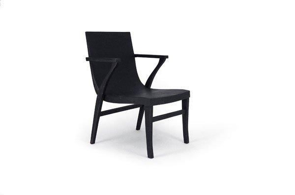 Alvar Aalto; Otto Korhonen. Early '50101' lounge chair,