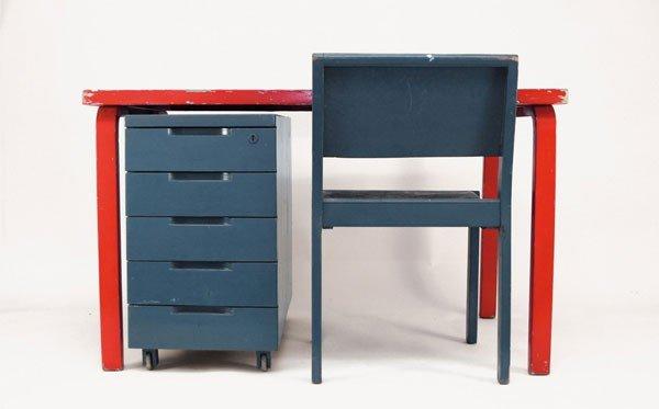 Alvar Aalto. Office furniture, designed circa 1929. Tab