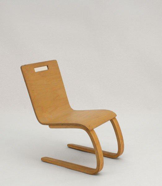 Alvar Aalto. '103' child's chair, designed in 1930/32.