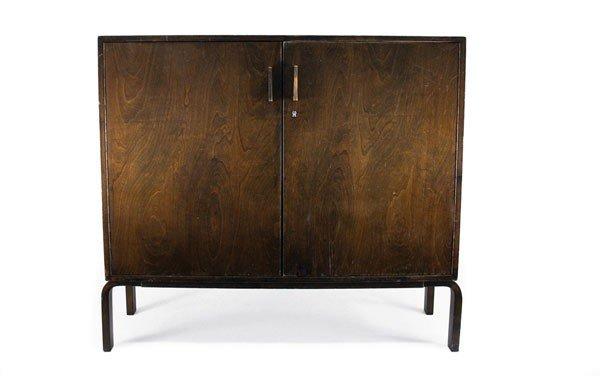 Alvar Aalto. 'L-Leg' wardrobe, designed in the 1930s. H
