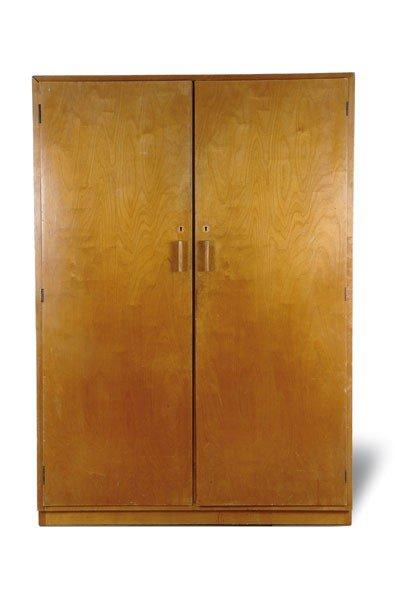 Alvar Aalto. '822' wardrobe, designed in the 1930s. H.